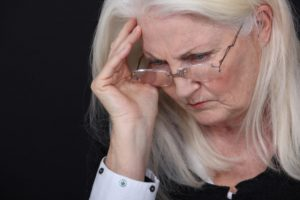 Woman concerned or in pain: All About Women Women's Health Conditions Blog