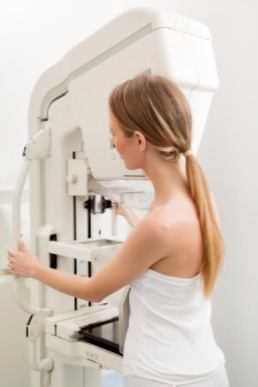 preparing for your first mammogram