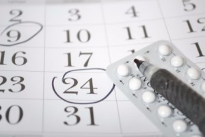 pack of birth control pills and calendar dates: All About Women Pregnancy & Postnatal Care Blog