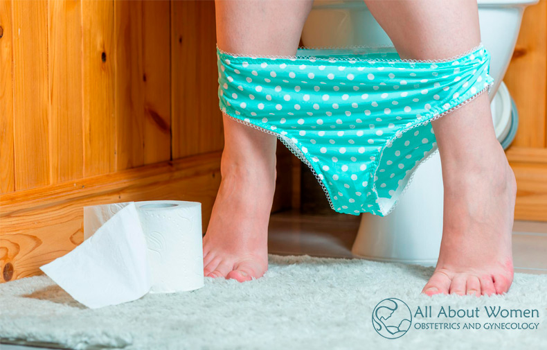 woman with nocturia waking up to pee in the middle of the night